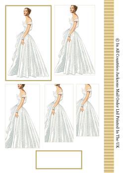 Bride to Be on her Wedding Day - Pyramid Sheet - . -Jacksons mail Order