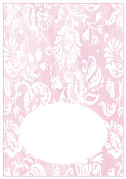 Pink Insert to Match other items - PT056, PT057, PT058 - Can be purchased on its own too! -Jacksons mail Order