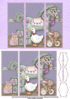 Children's Nursery - Papertole Exclusive Panel Sheet . *