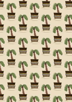 Palm Tree & Treasure BACKGROUND SHEET - Part of the Pirates Range . -Jacksons mail Order