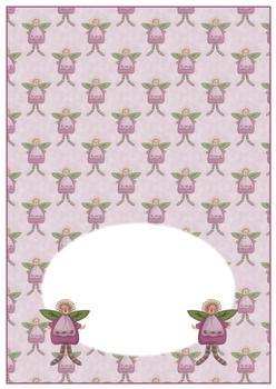 Cute Fairy - INSERT SHEET - From The Penny Slider Range . -Jacksons mail Order