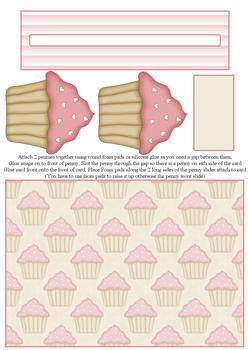Cup Cake PENNY SLIDER - From The Penny Slider Range . -Jacksons mail Order