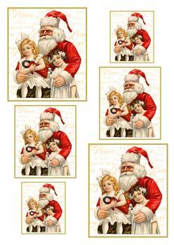 Sitting on Santa's Lap - Pyramid Sheet 1 *