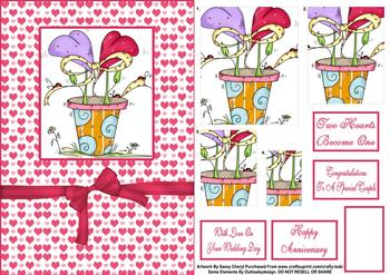 Funky Wedding Exclusive Topper Sheet . *
