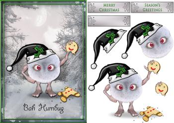 Bah Humbug - Exclusive Topper Sheet *
