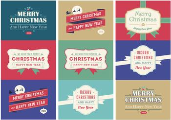 9 Christmas Tags - Exclusive To Papertole *