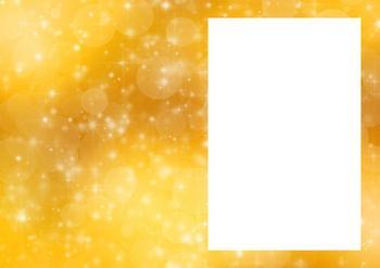 Gold/Yellow Sparkle Insert Sheet *