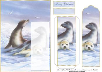 Christmas Seals -  Papertole Exclusive Sheet . *