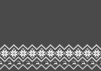 Dark Grey A4 Background Sheet with Snowflakes & Reindeer Latest Products *