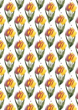 Tulip BACKING SHEET - OTHER MATCHING ITEMS - Part of the Fancy Floral Range . -Jacksons mail Order