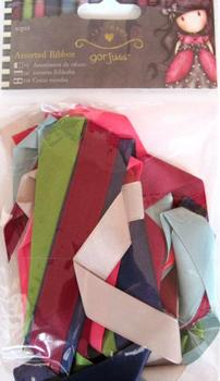 Pack of Ten Assorted Ribbons 50cm long x 2.5cm wide . *