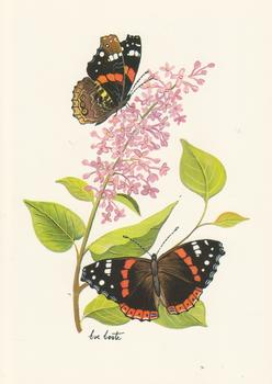 Butterfly and Flower - Card Topper - 5