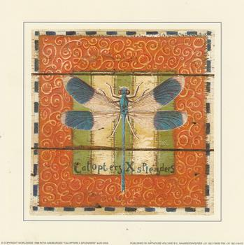 Dragon Fly - Card Topper - 7