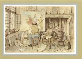 Anton Pieck - We Three Kings Anton Pieck
