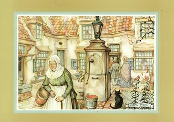 Anton Pieck - The Water Pump . Anton Pieck