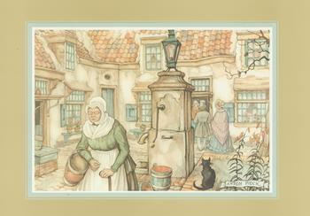 Anton Pieck - The Water Pump Anton Pieck