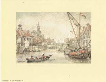 Anton Pieck - Delfshaven Anton Pieck