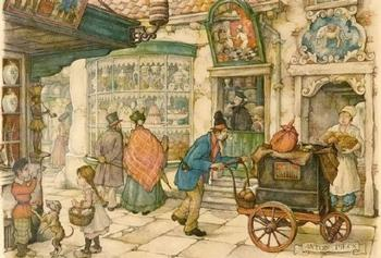 The Bakery  E1 Main Gallery Anton Pieck