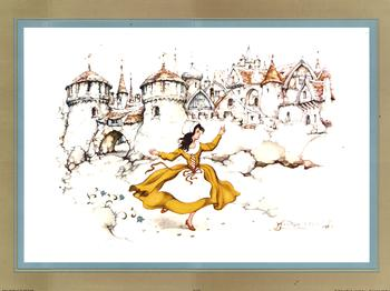 Anton Pieck - The Red Shoes Anton Pieck