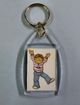 Crafty Bob Keyring *