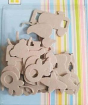 Chipboard Children Toys Shapes Die Cut Card Embellishments .