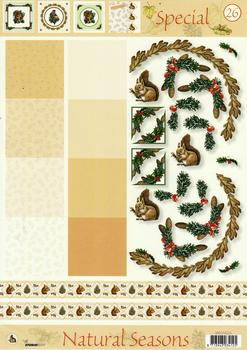 A4 Winter Themes Special sheet No26 Pack of Ten *