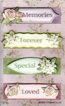 Special Sentiments tags/toppers *