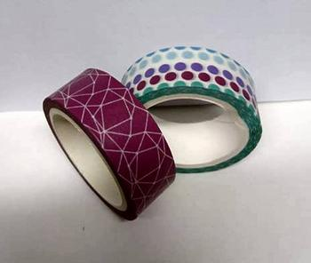 Decorative Washi Tape - 15mm wide *