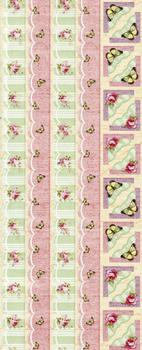Beautiful Butterfly & Roses Flat Stickers *