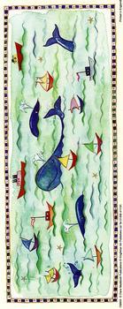 Animal Panel Print - Whale 10