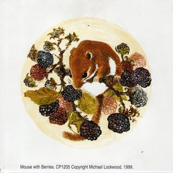 Mouse with Berries - 4