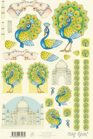 Mary Rahder - A4 120g Quality Multi Craft Sheet - Indian Theme 2 Specials Mary Rahder