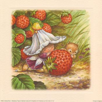 Victoria Plum - Strawberry Feast . VICTORIA PLUM