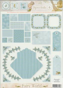 A4 Fairy World 6 special sheet FANTASTIC OFFER!!!