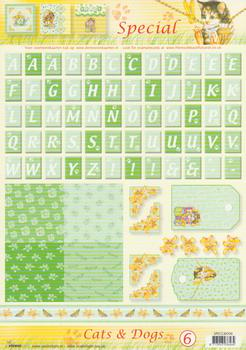 Cats & Dogs special sheet - 6 . FANTASTIC OFFER!!!