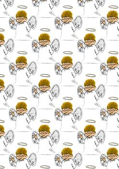 Angel Background Sheet -Jacksons mail Order