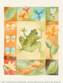 Large Fashionable Topper - Frog . *