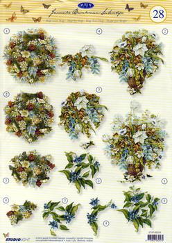 3d step by step - Floral FANTASTIC OFFER!!!