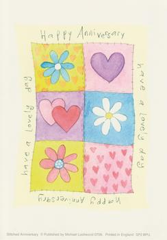 Happy Anniversary/Have a Nice Day - Hearts & Flower Topper- Michael Lockwood 4.1