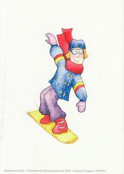 Skateboard Dude - 4