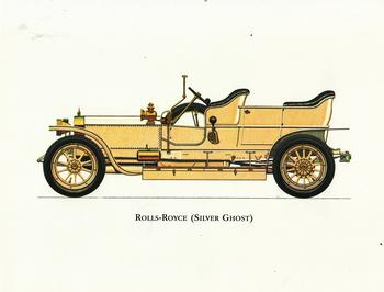 Vintage Car - Cream Rolls-Royce Silver Ghost - 8.5