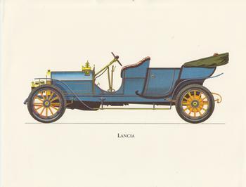 Old Fashioned Car - Blue LANCIA 8.5