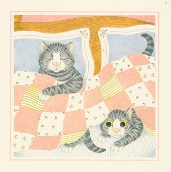 Sleeping Cat and Peek-a-Boo 5.5