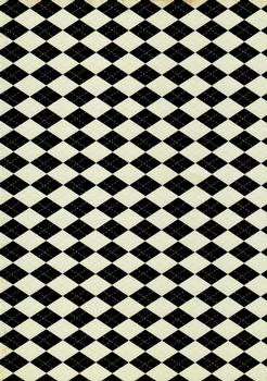 Quality Backing Paper J - Harlequin pattern *