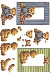3d Easymake - Teddies 4    3D Easymake Easy to follow instructions