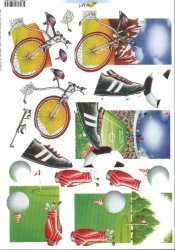 3d Easymake - Sport        11055-079 3D Easymake Easy to follow instructions