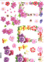 3d Easymake - Floral Mounts     11055-015 3D Easymake Easy to follow instructions