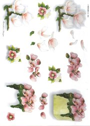 3d Easymake - Floral Display    543 3D Easymake Easy to follow instructions