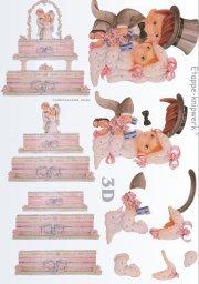 3d Easymake - Wedding Couple 3D Easymake Le Suh