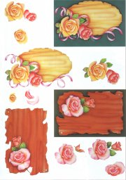 3d Easymake - Rose Plaques - 4169232 3D Easymake Easy to follow instructions